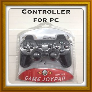 New Game joypad Controller - For Pc Windows 98 / 2000 / ME / XP - Black