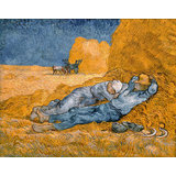 Vincent Van Gogh, Rest From Work, Giclee Print On Archival Paper