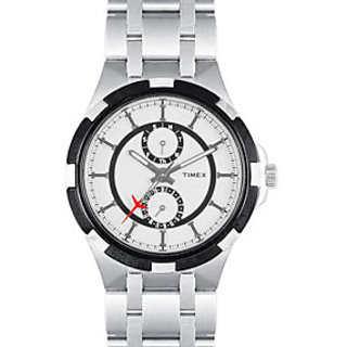 Timex Chronograph  Men White Dial Watch - I300