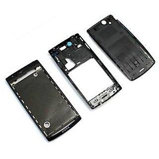 New Full Housing Body Panel - Sony Ericsson Arc s LT18i - Black
