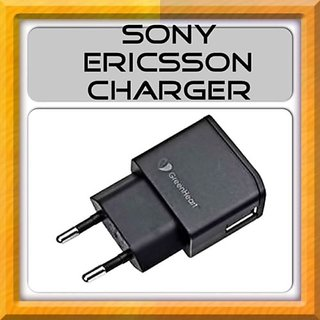 New Original Sony Ericsson Charger - For all sony models - Black