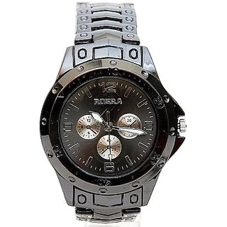 w60 - Rosra Chrono Look Metal Bracelet Watch for men