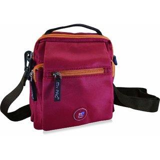 my pac ViVaa unisex waterproof Sling bag Red C11550-3