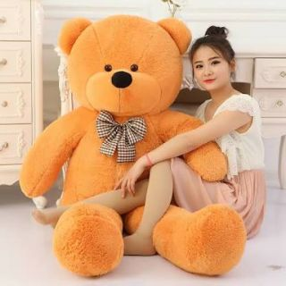 Giant teddy bear soft toy full size imported fer