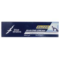 Blue Stratos Lather Shaving Cream 70 G With Free Razor