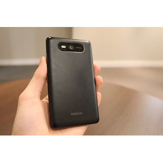 New Nokia Lumia 820 -Battery  Back Panel - Black Color