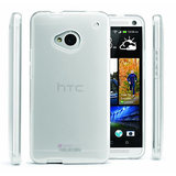 Slim Crystal Clear Transparent Hard Back Cover Case for HTC One M7