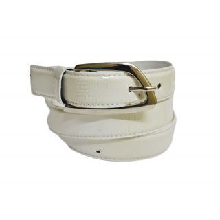 Skyways Suave Quadra Buckle Belts For Her In White