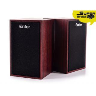 ENTER Wooden USB Speaker Model No. E-S280 speaker