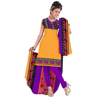 Shaili  Print Crepe Unstitched Straight Salwar Suit dress material