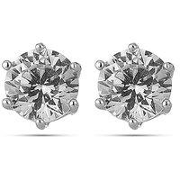 ENZY Slick Silver Diamond Solitare Tops