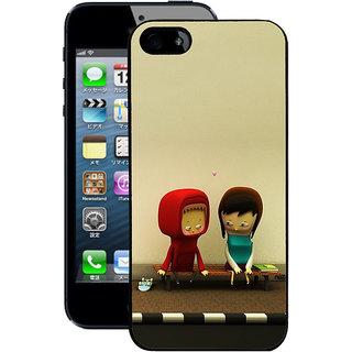 Instyler Digital Printed Back Cover For Apple I Phone 5 Ip5Ds-10037