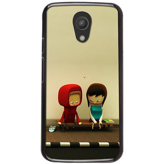 Instyler Digital Printed Back Cover For Moto G2 MOTOG2DS-10037