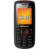 Karbonn K101 * Black And Red Mobile