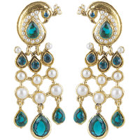 Inaya Blue Earring For Women.