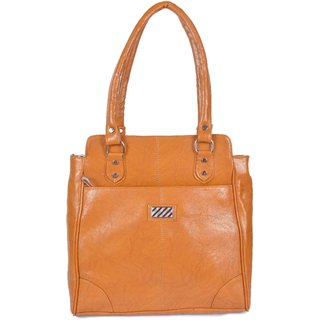 Tohfawala Brown Hand Bag
