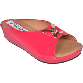 Drake Shoes Pink Slip On