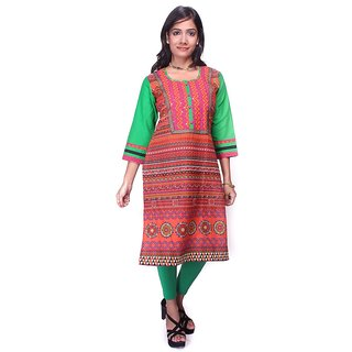 Dungri Cotton Printed Kurti with matching legging