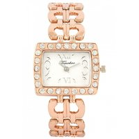 Timebre Intricate Women Fancy Rose Gold Watch