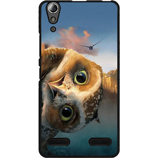 Instyler Digital Printed Back Cover For Lenovo A6000 LENA6000DS-10033