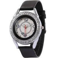 Timebre Showy Women White Daimond Analog Watch