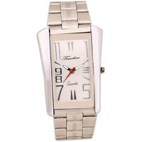 Timebre Uptown Mens Steel White Analog watch