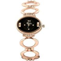 Timebre Intricately Women Fancy Rose Gold Watch
