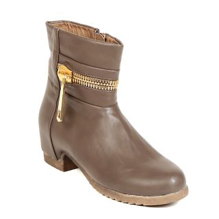 TEN Ravishing Womens Khaki Mid Length Boots ]
