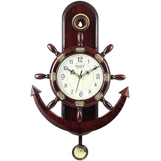 YourChoice - Anchor And Steering Design Pendulum Wall Clock
