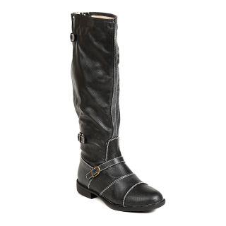 TEN Mod Womens Black Knee Length Boots