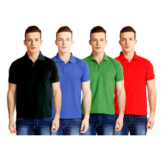Baremoda Black Blue Green Red  Polo T Shirt