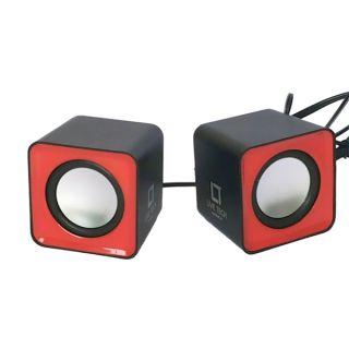 Live Tech LT-laptop speaker - 625 Black/Red