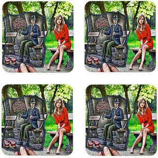 Instyler Digital Printed Tea Coasters (TCRDS-10285)