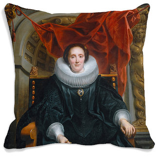 meSleep Queen 3D Cushion Cover (16x16)