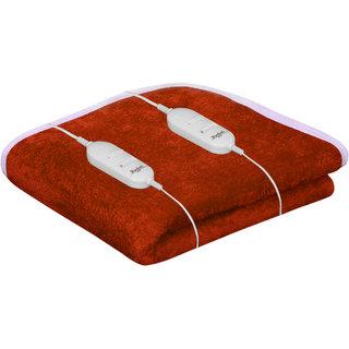 Akash Ganga Warmland Rust Electric Double Bed Warmer (AEB17)