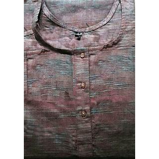 Organic Cotton Kurta Grey