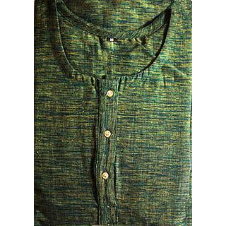 Organic Cotton Kurta Green