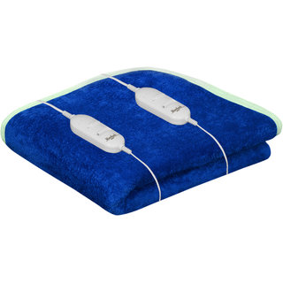 Akash Ganga Warmland Blue Electric Double Bed Warmer (AEB19)
