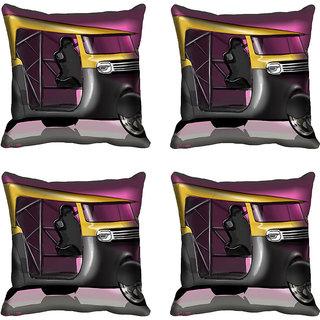 meSleep Auto Digitally Printed Cushion Cover (16x16)