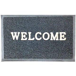 Akash Ganga Grey Beautiful Welcome Floor Mat (M30)