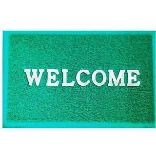 Akash Ganga Green Welcome Floor Mat (M32)