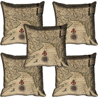 meSleep Ethnic Digitally Printed Cushion Cover (16x16)