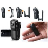 Mini Body Worn Voice Activated Spy Camera - Small Security Camera