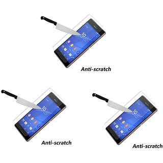 Tempered Glass For  Asus ZenFone 5 (Pack of 3)