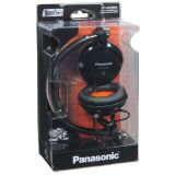 Panasonic DJ Style Headphones S For Ipod / MP3 Player (RP-DJS400AEK)