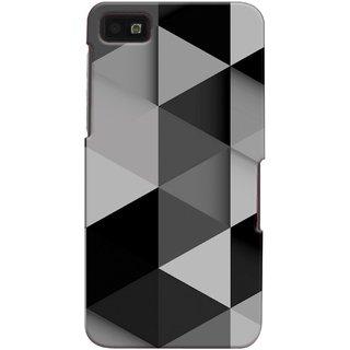 Snooky Back Cover Cases For Blackberry Z10 Grey