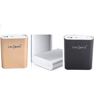 Callmate Power Bank Alloy 10400 MAH