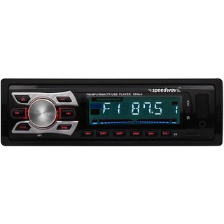 Speedwav FP-6252 Car MP3 Stereo SD-Card Slot,USB,FM,Remot