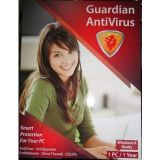 Guardian Antivirus 2013 Windows 8 Ready 1 User 1 Year Anti Virus