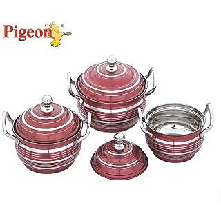 Pigeon Delight Serving Dish-Metallic
